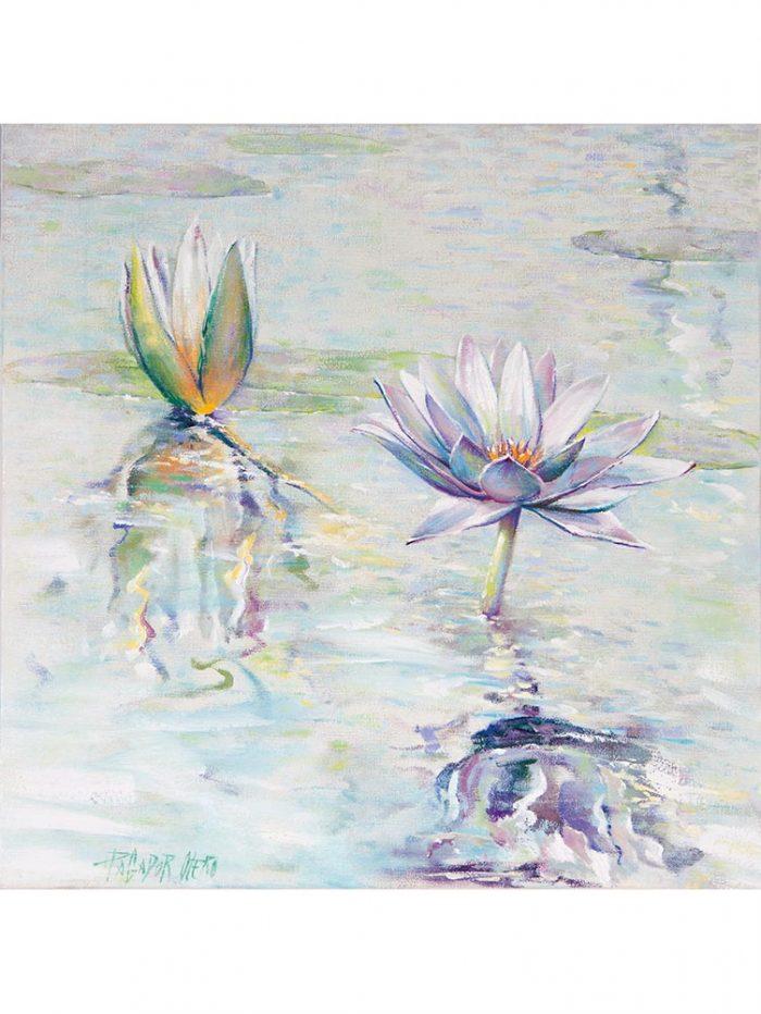 Reproducción de arte - imagen destacada - Agua II - Óleo - Paisaje - Naturalismo -pintado por Fernando Pagador