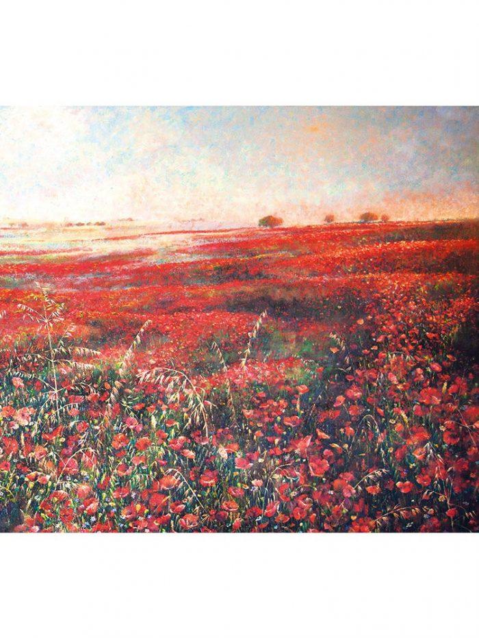 Reproducción de arte - imagen destacada - Termino de Valverde 3 - Óleo - Paisaje - Naturalismo -pintado por Fernando Pagador