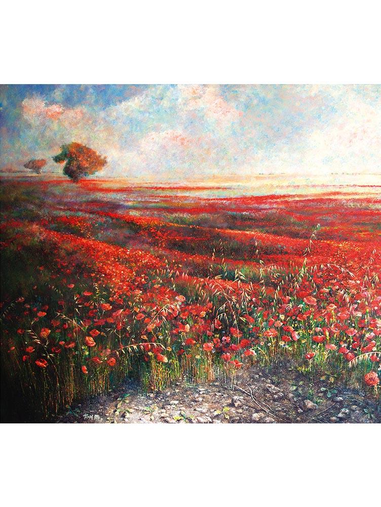 Reproducción de arte - imagen destacada - Termino de Valverde 1 - Óleo - Paisaje - Naturalismo -pintado por Fernando Pagador
