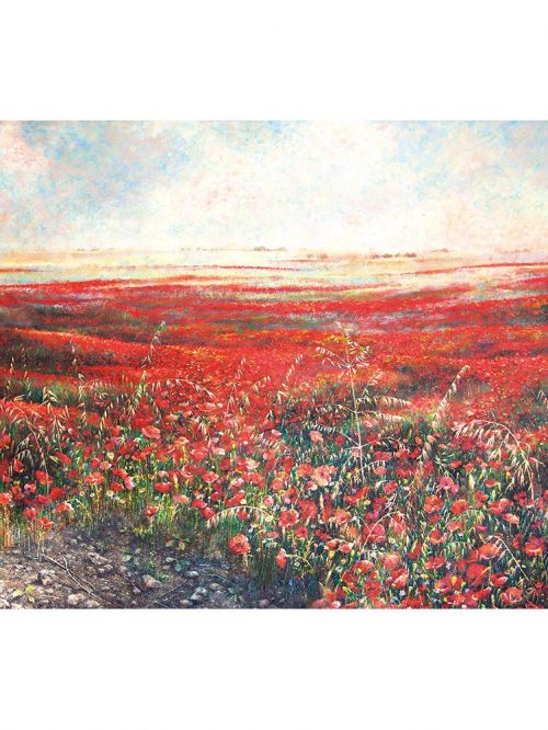 Reproducción de arte - imagen destacada - Termino de Valverde 2 - Óleo - Paisaje - Naturalismo -pintado por Fernando Pagador