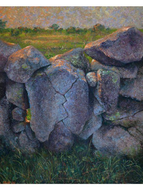 Reproducción de arte - imagen destacada - Ancestros - Óleo - Paisaje - Naturalismo -pintado por Fernando Pagador