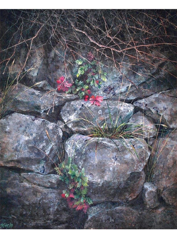 Reproducción de arte - imagen destacada - Supervivientes - Óleo - Naturalismo-pintado por Fernando Pagador