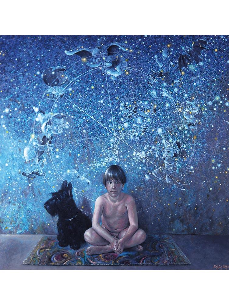 Reproducción de arte en lienzo - imagen destacadas - UNIVERSO INFANTIL - Óleo - Realismo -pintado por Fernando Pagador