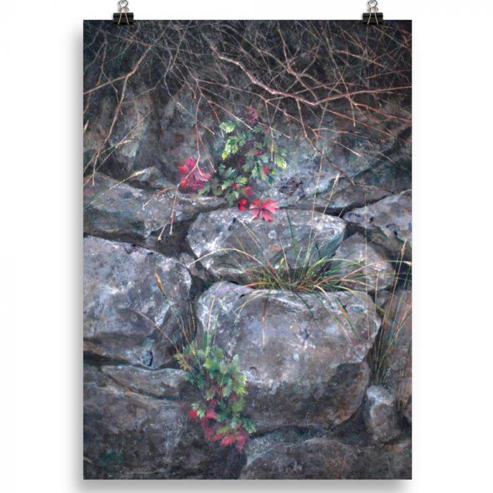 Reproducción de arte en lámina 50x70 cm - Supervivientes - Óleo - Naturalismo-pintado por Fernando Pagador