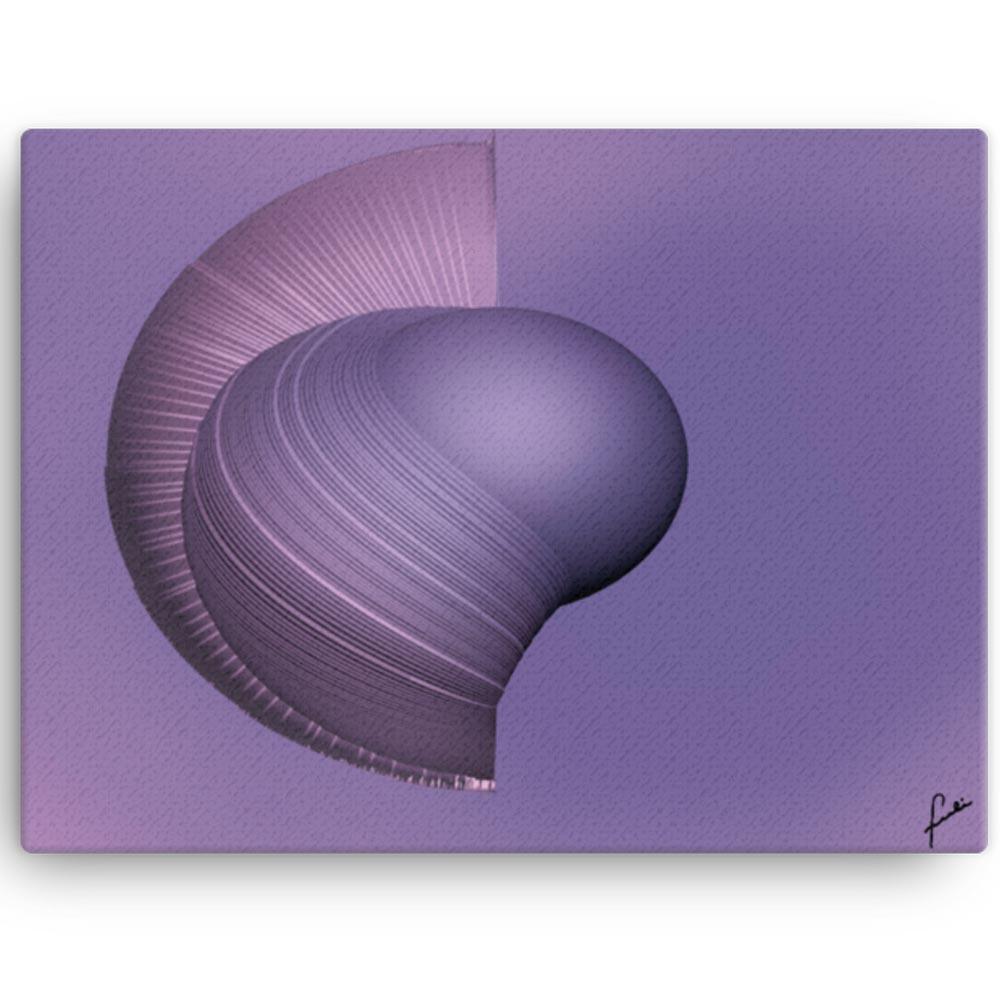 Reproducción de arte en lienzo 30x41 cm - Guerrero Argarico - Diseño Digital - Abstracto - Fotografía y Pintura -pintado por Fuli