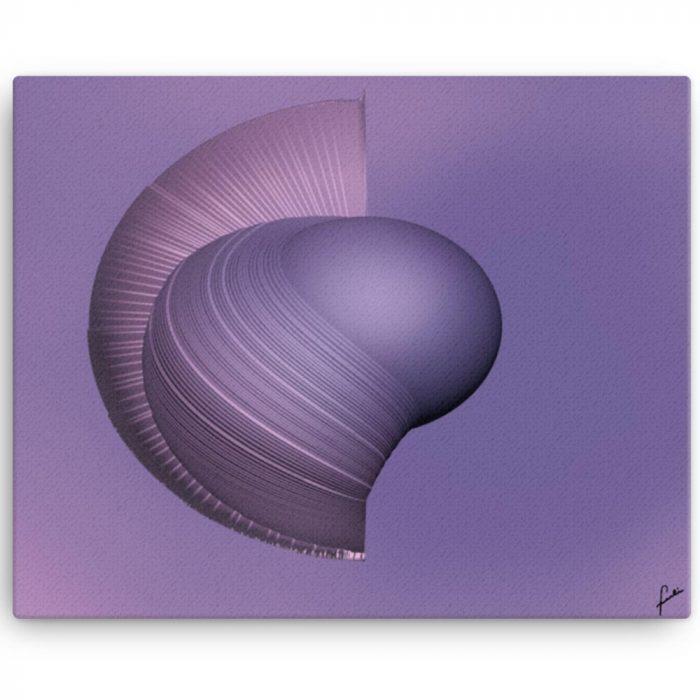 Reproducción de arte en lienzo 41x51 cm - Guerrero Argarico - Diseño Digital - Abstracto - Fotografía y Pintura -pintado por Fuli