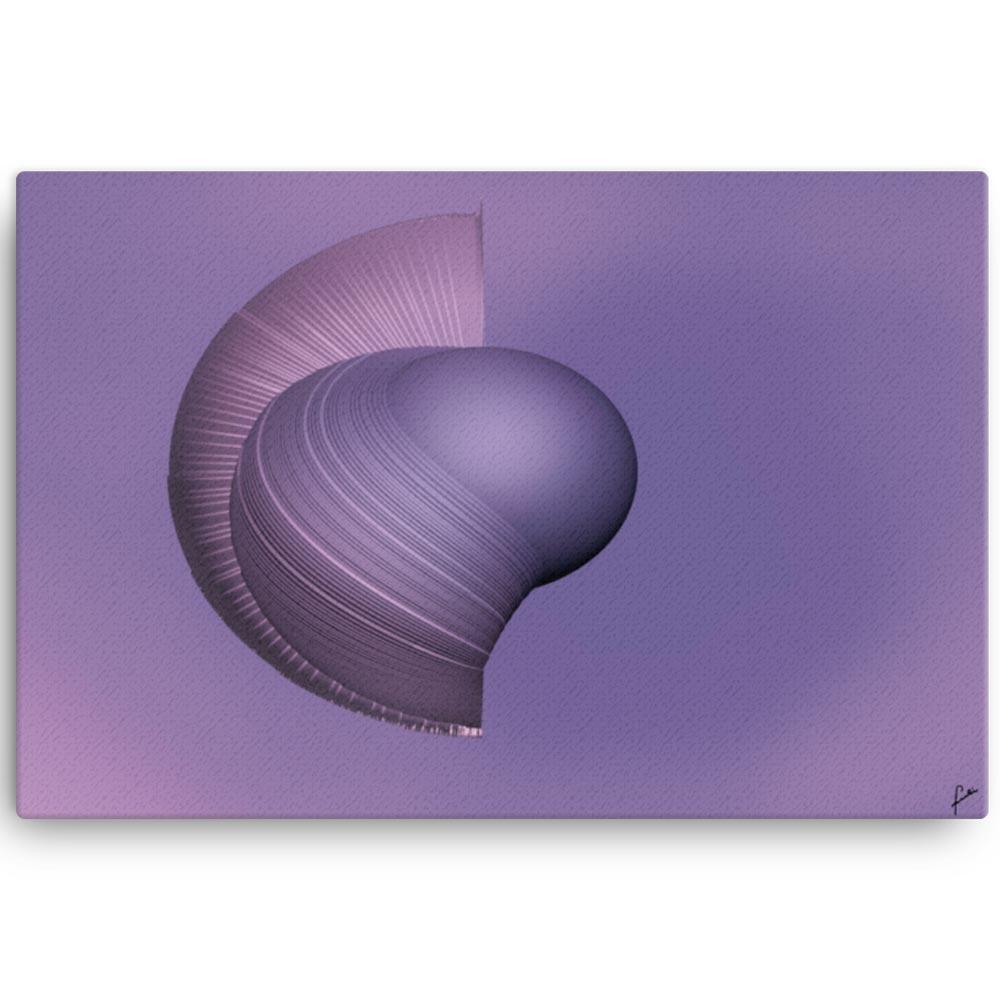 Reproducción de arte en lienzo 61x91 cm - Guerrero Argarico - Diseño Digital - Abstracto - Fotografía y Pintura -pintado por Fuli