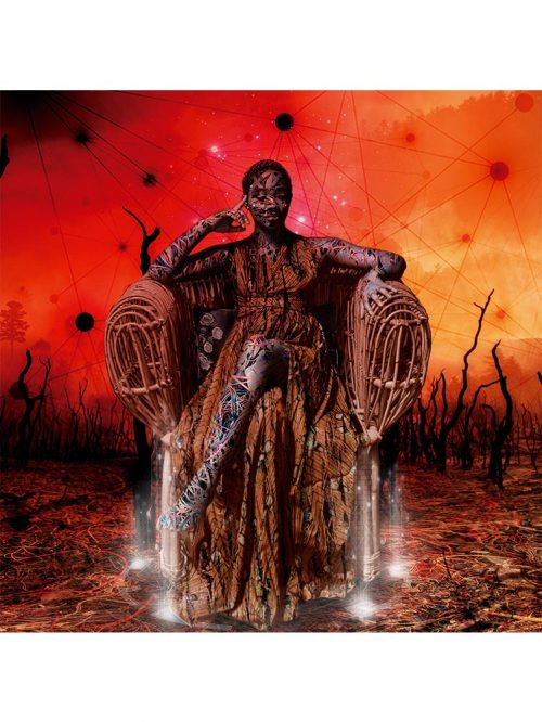 Reproducción de arte - imagen destacada - Desconexión - Diseño Digital - Ilustración - Fotografía y Pintura -pintado por WachiMakeArt