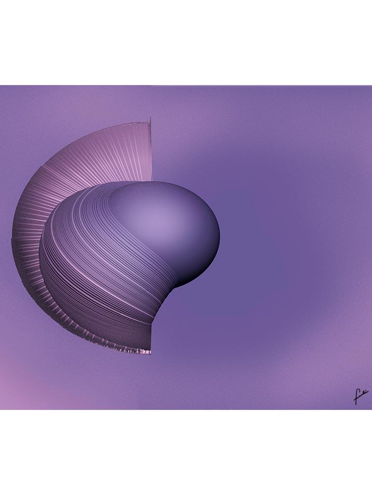 Reproducción de arte - imagen destacada - Guerrero Argarico - Diseño Digital - Abstracto - Fotografía y Pintura -pintado por Fuli