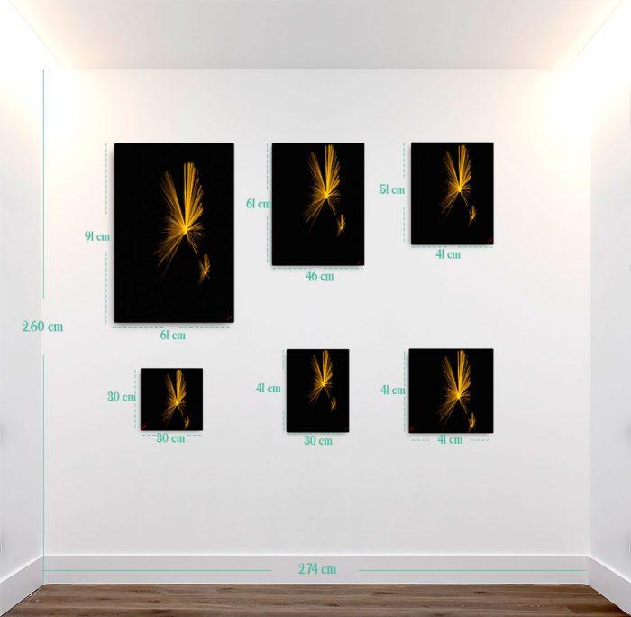 Reproducción de arte en lienzo - medidas - Esfinge - Diseño Digital - Abstracto - Fotografía y Pintura -pintado por Fuli