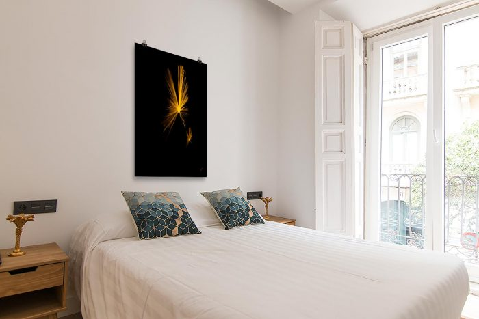 Reproducción de arte en lámina - dormitorio con balcón - Mariposas - Diseño Digital - Abstracto - Fotografía y Pintura -pintado por Fuli