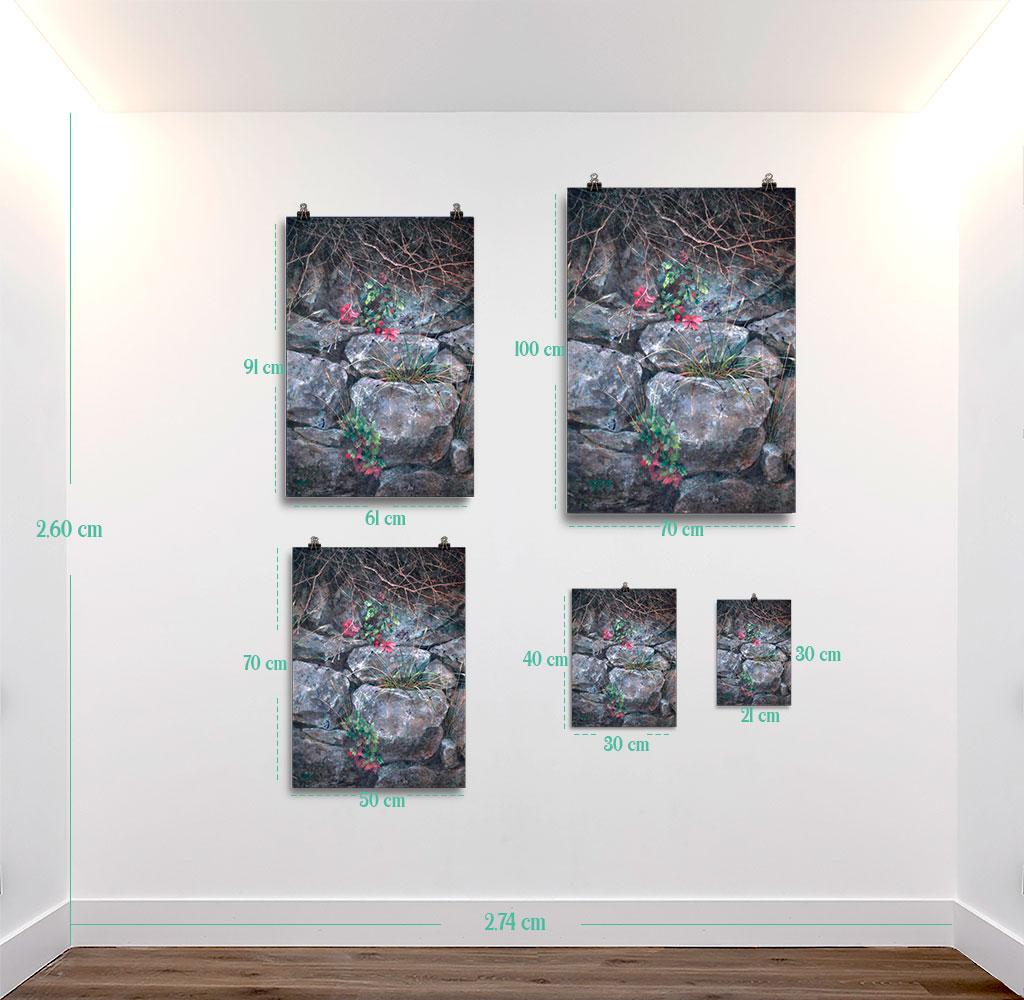 Reproducción de arte en lámina - medidas - Supervivientes - Óleo - Naturalismo-pintado por Fernando Pagador