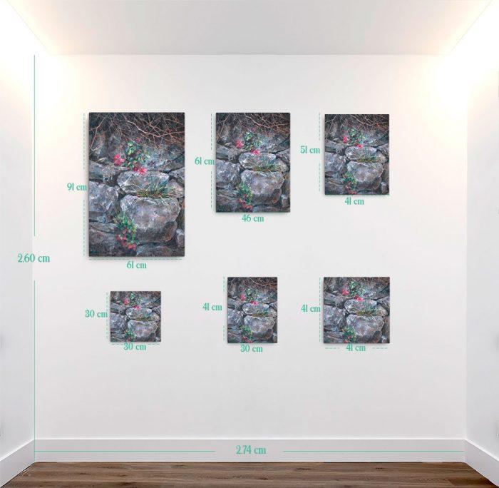 Reproducción de arte en lienzo- medidas - Supervivientes - Óleo - Naturalismo-pintado por Fernando Pagador